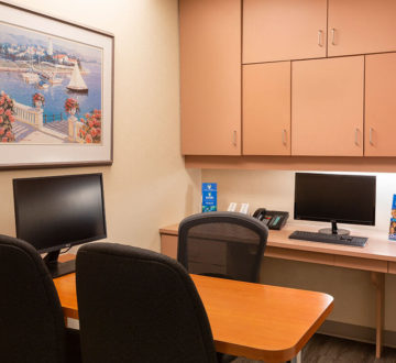 our consultation room at thorncliffe dental centre